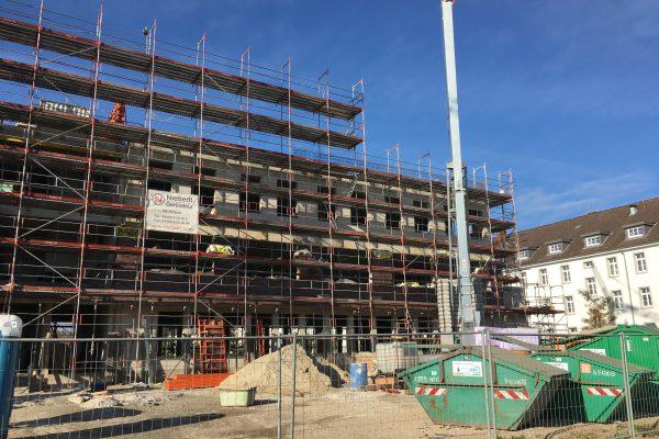 Rechter Gebäudeflügel des Green Office Buildling OS
